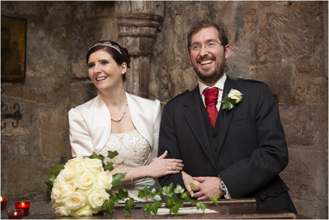 Scottish Wedding Photography- Philippa & Jonathan, Comlongon Castle