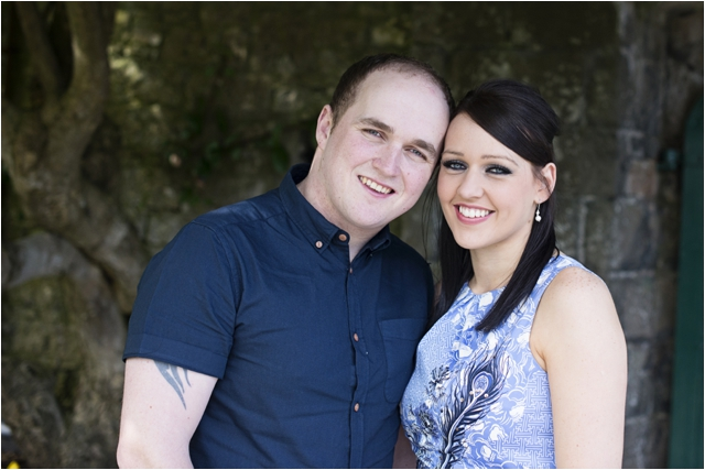 Northern Ireland pre-wedding photography- Ciara and Darren- Glenarm Castle