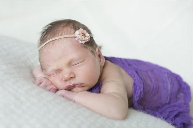 Northern Ireland newborn photography- Baby Violet