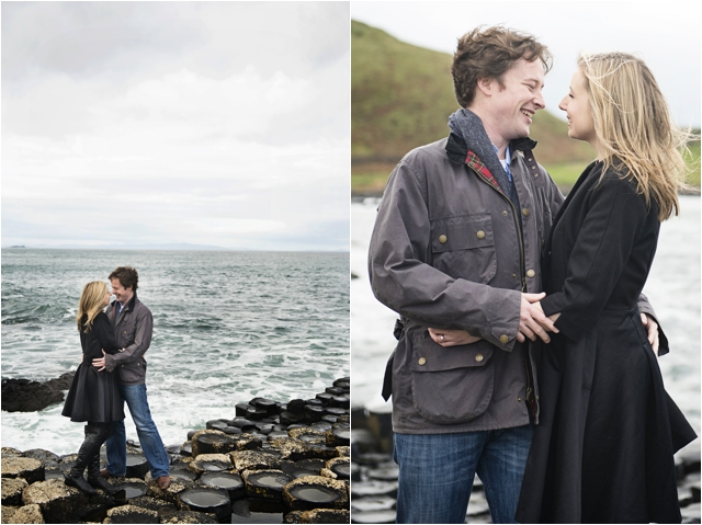 Giant's Causeway engagement photos