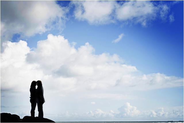 Janine and Thomas- Benone beach pre-wedding shoot