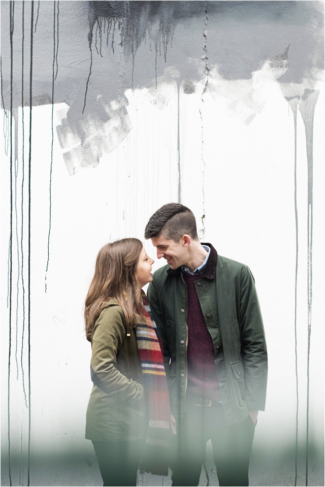 Cathedral Quarter engagement shoot- Jemma & Scott