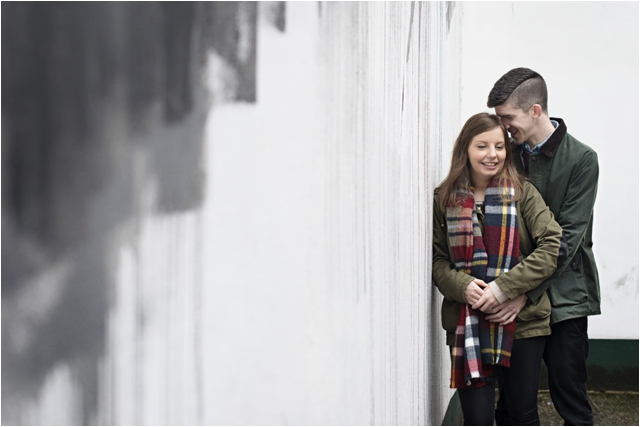 Cathedral Quarter engagement shoot