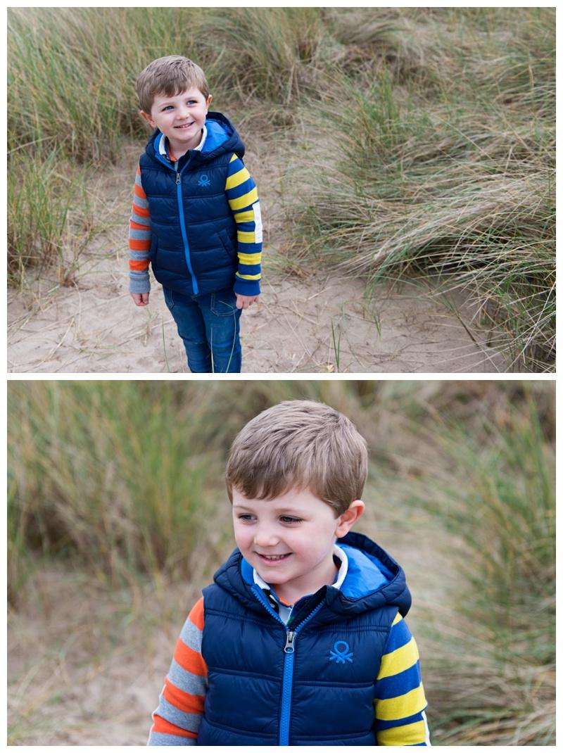 portraits on the beach northern Ireland