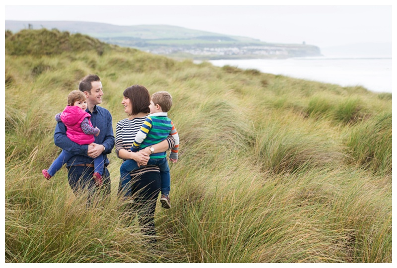 Family photography on the North Coast of Ireland