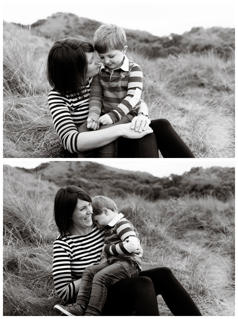 Special moments between mummy and son