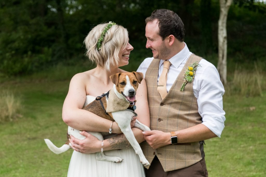 Wedding at Finnebrogue woods