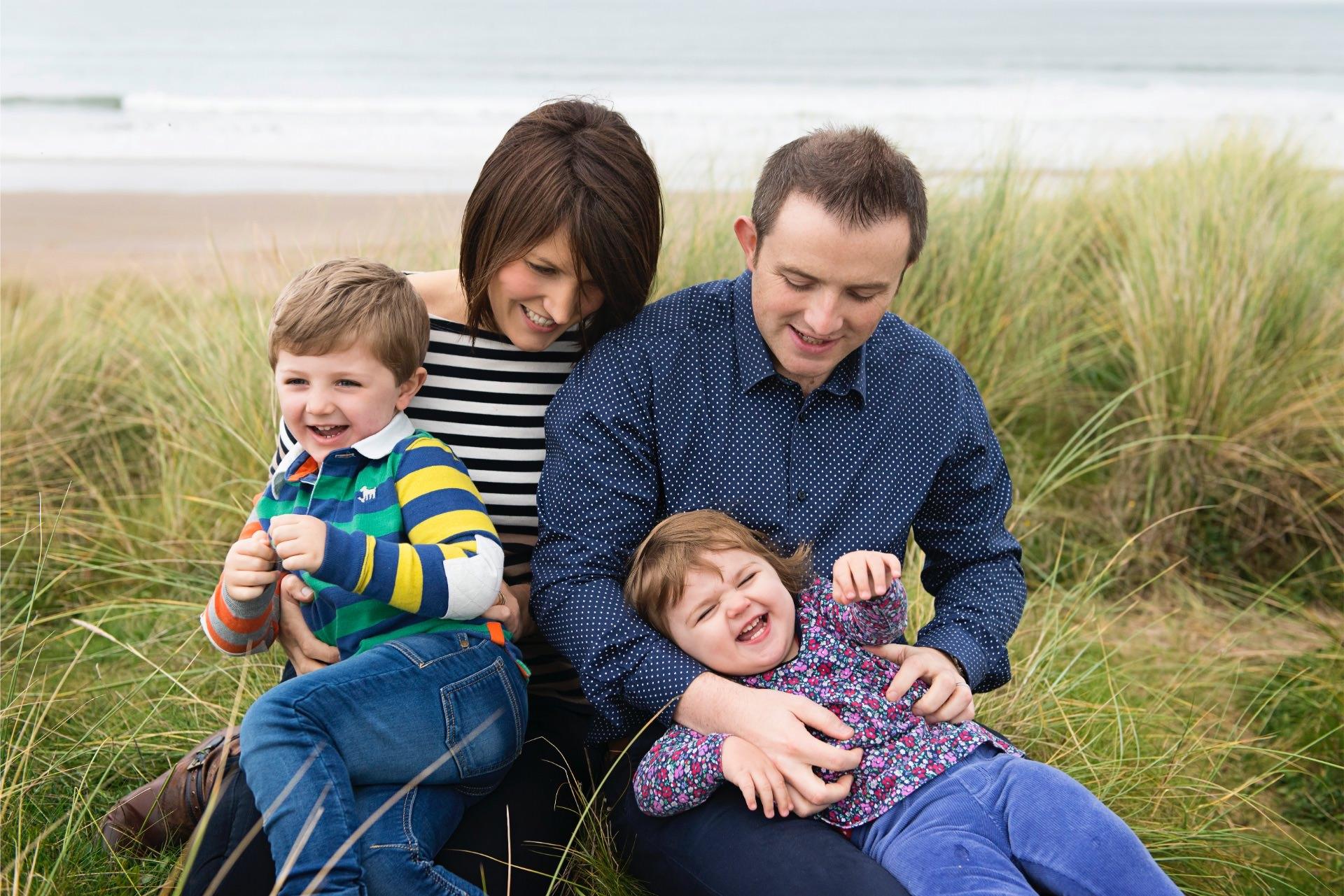 Family photography Portstewart Strand
