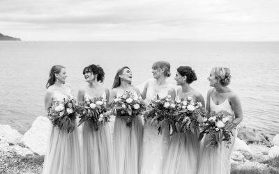Northern Ireland wedding photography – Glenarm Castle marquee wedding – Tiffany and Robert