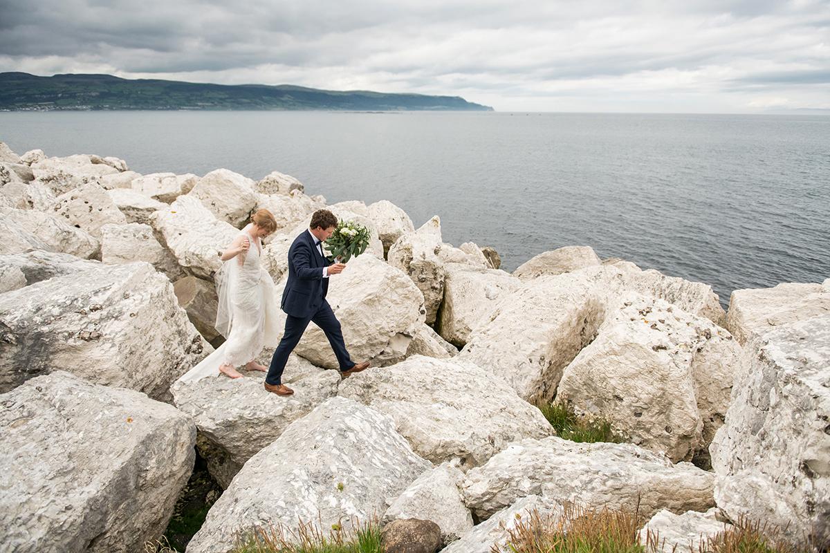 Glenarm Castle marquee wedding