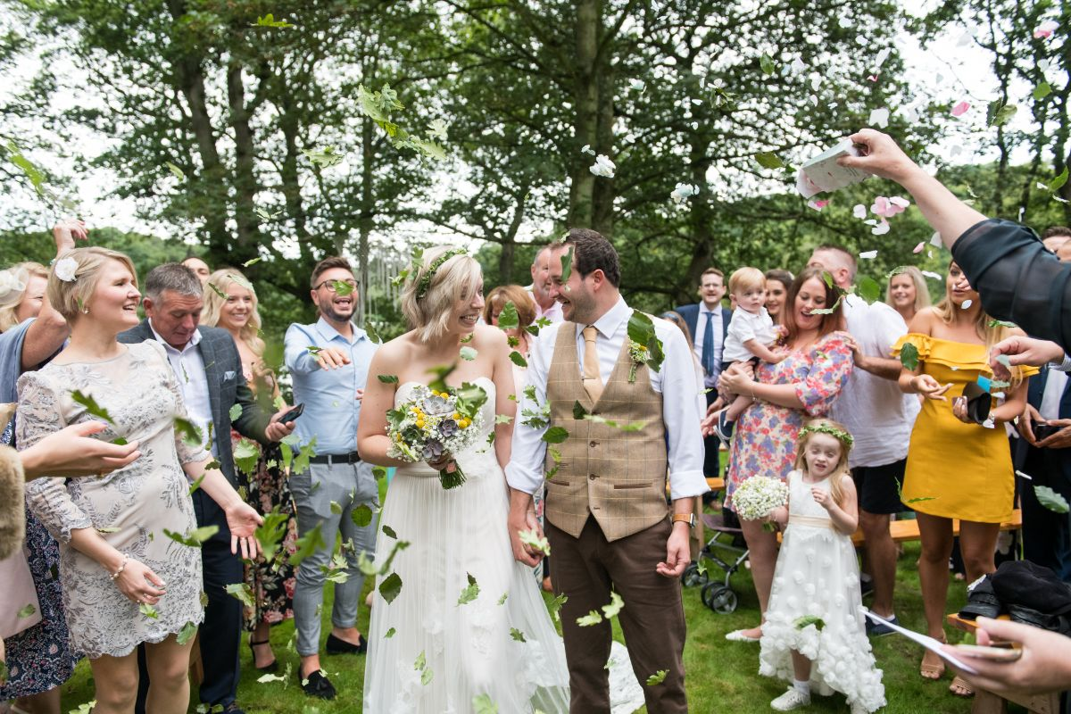 Outdoor weddings at Finnebrogue Woods