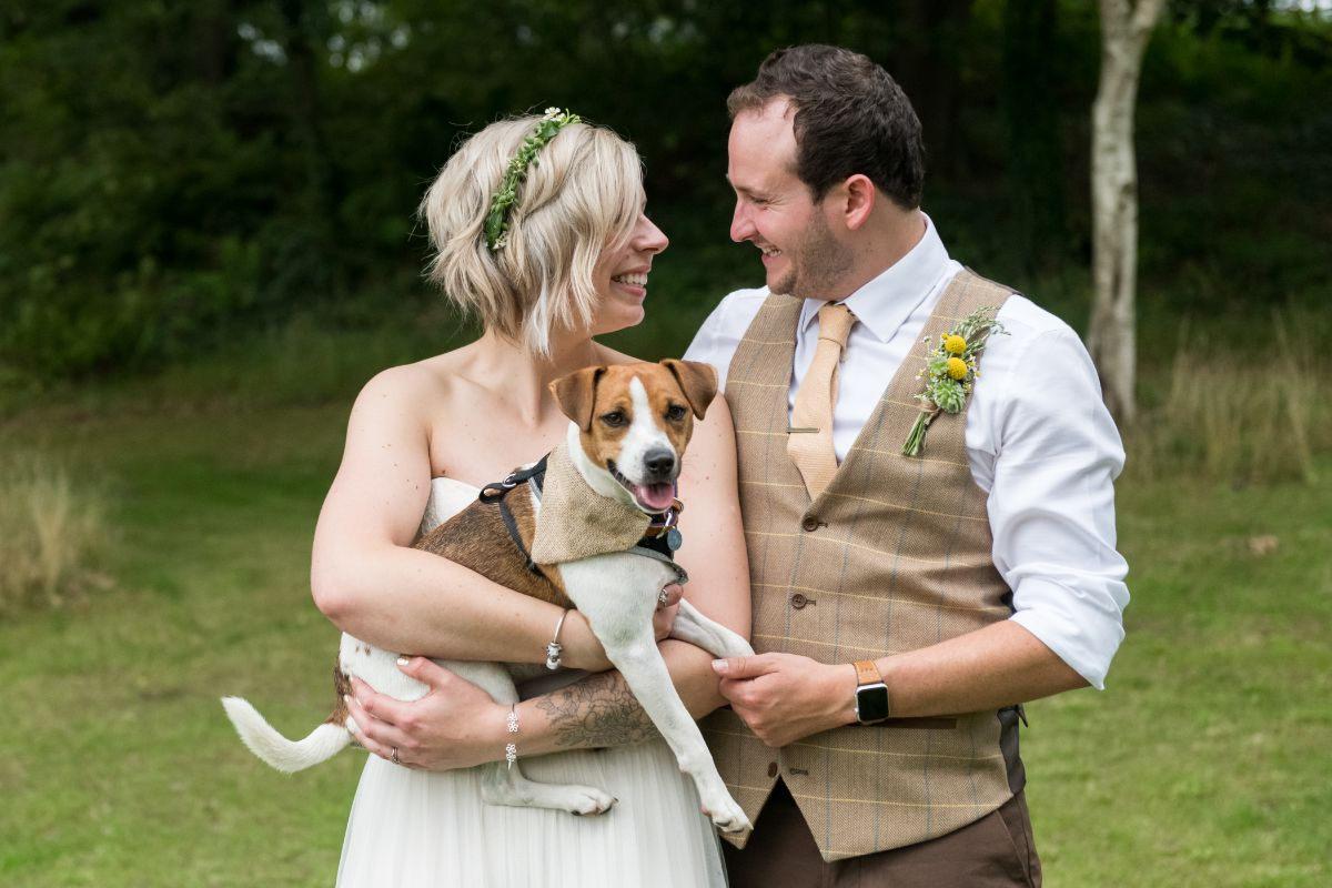 Getting married at Finnebrogue Woods