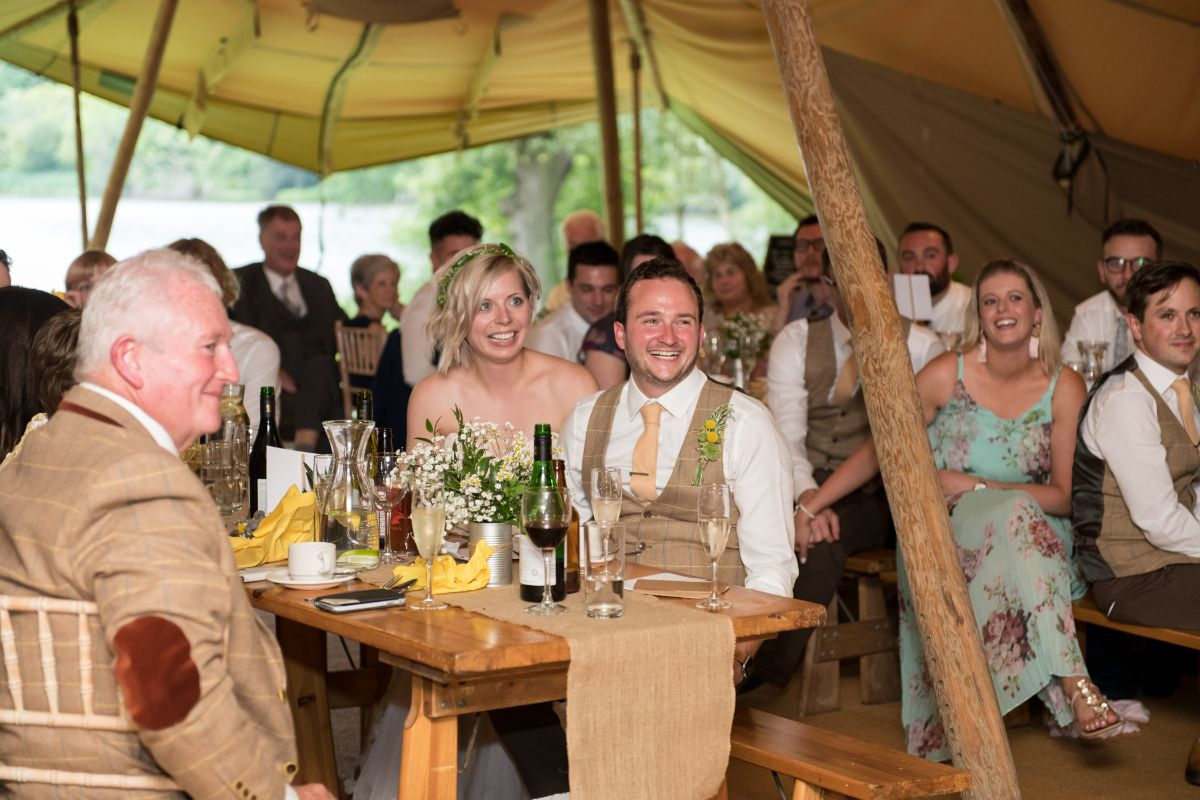 Tipi weddings in Northern Ireland