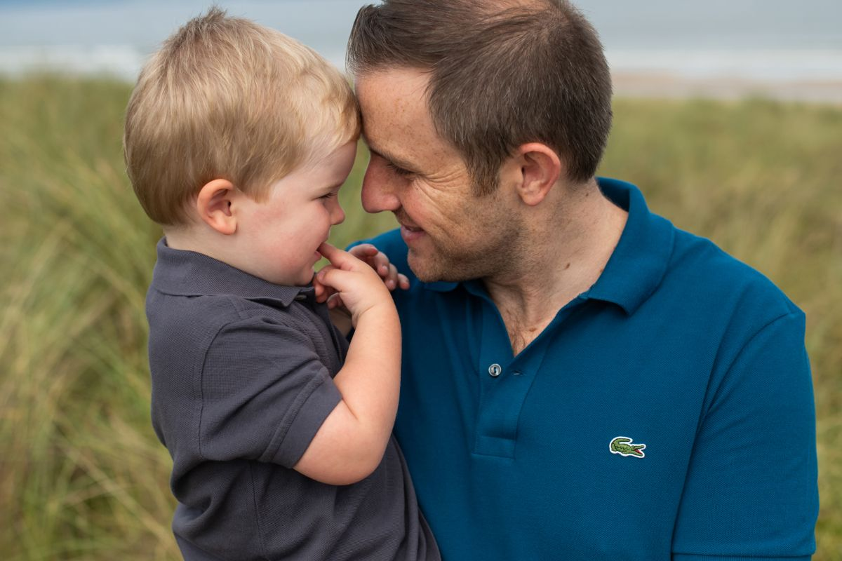 Beach family photography Portstewart