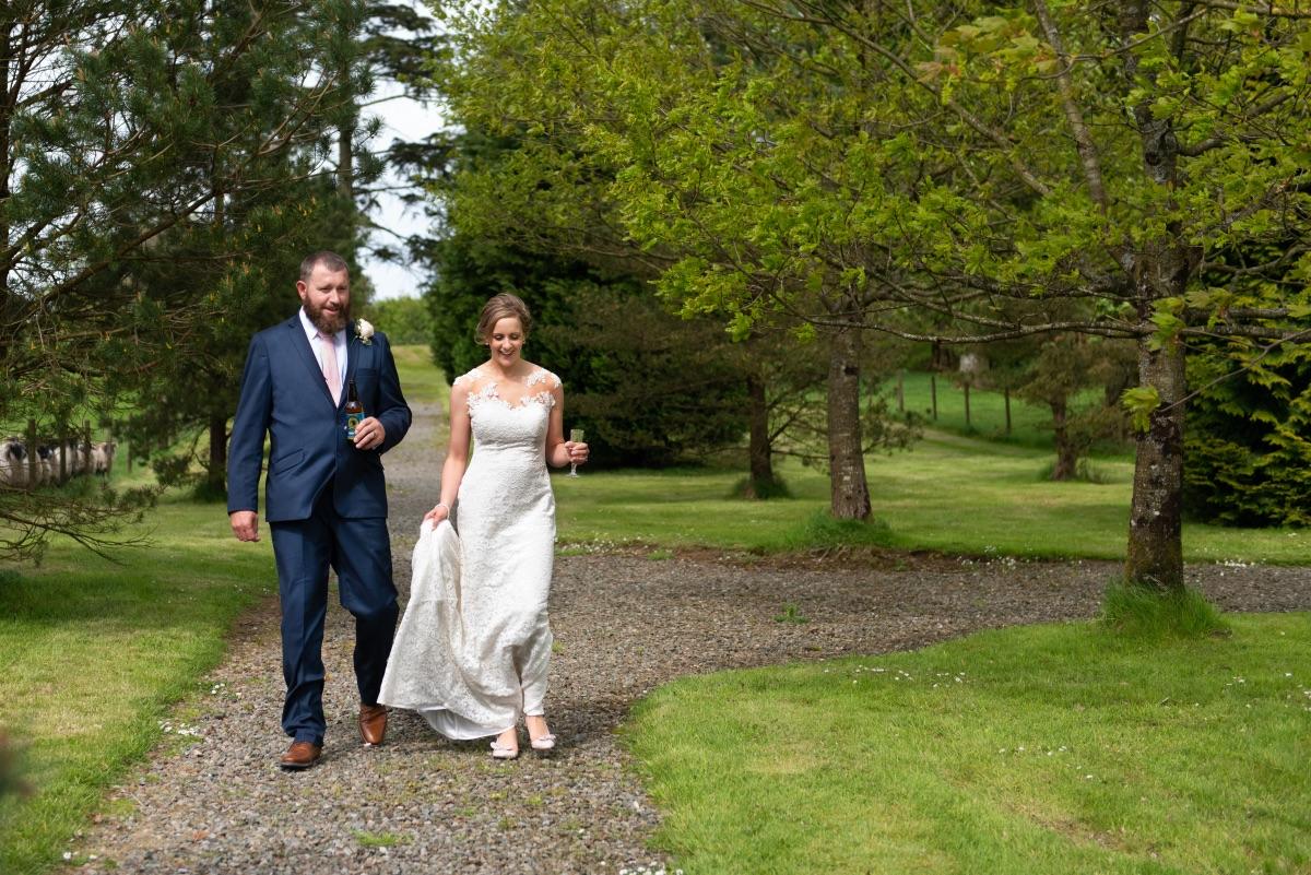 Relaxed wedding photography Northern Ireland