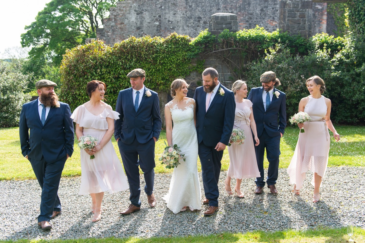 Bridal party photography Northern Ireland