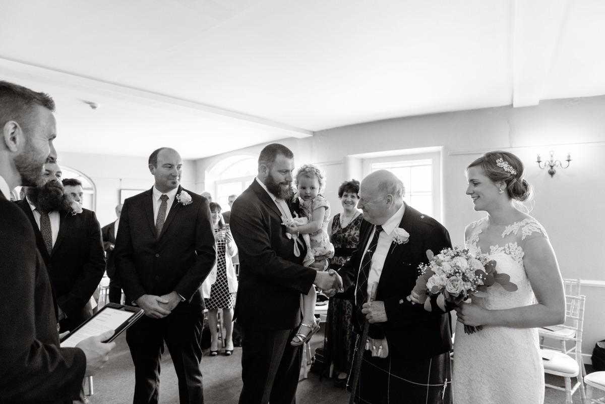 Getting Married at Lissanoure Castle