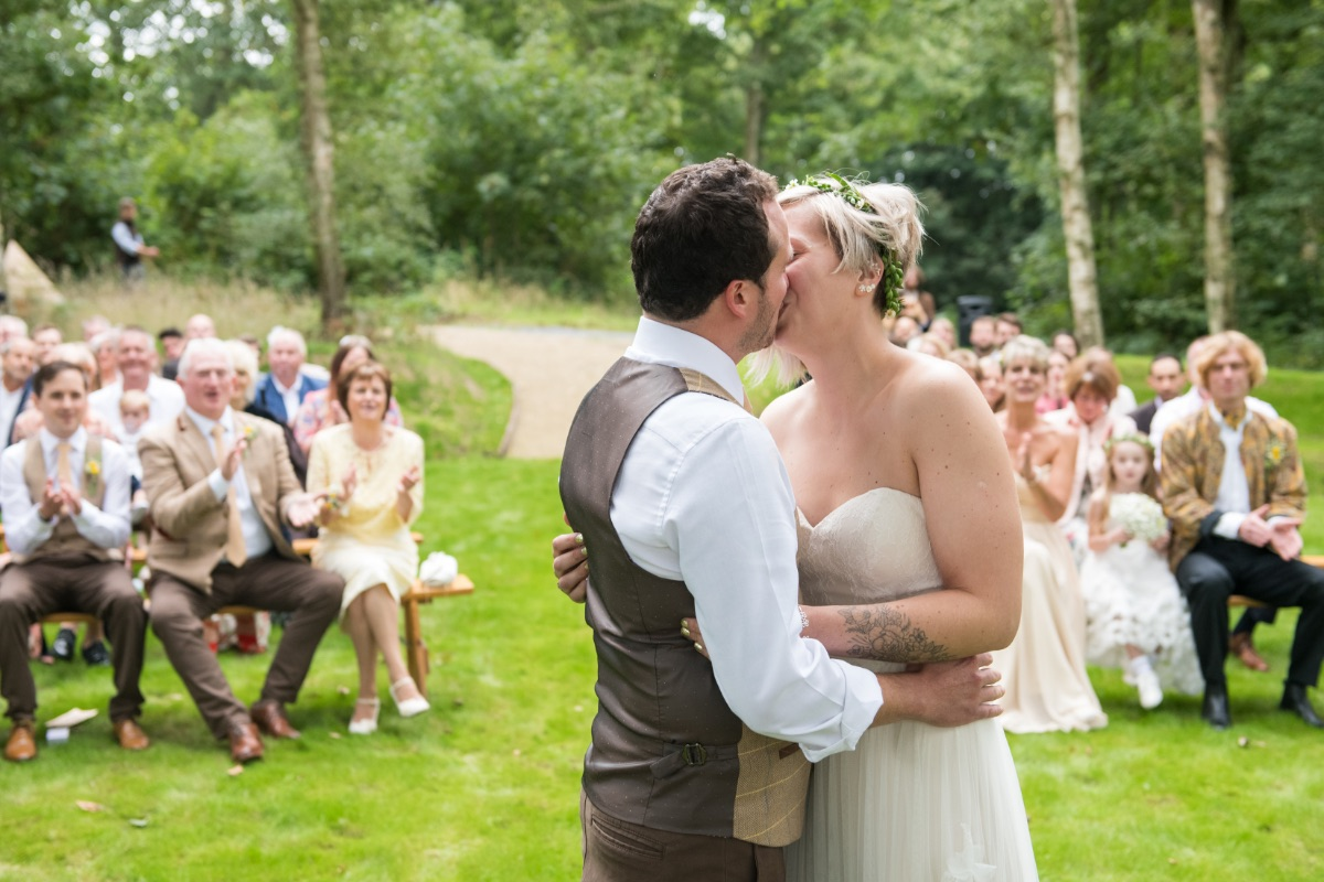 How to plan a small wedding Finnebrogue Woods