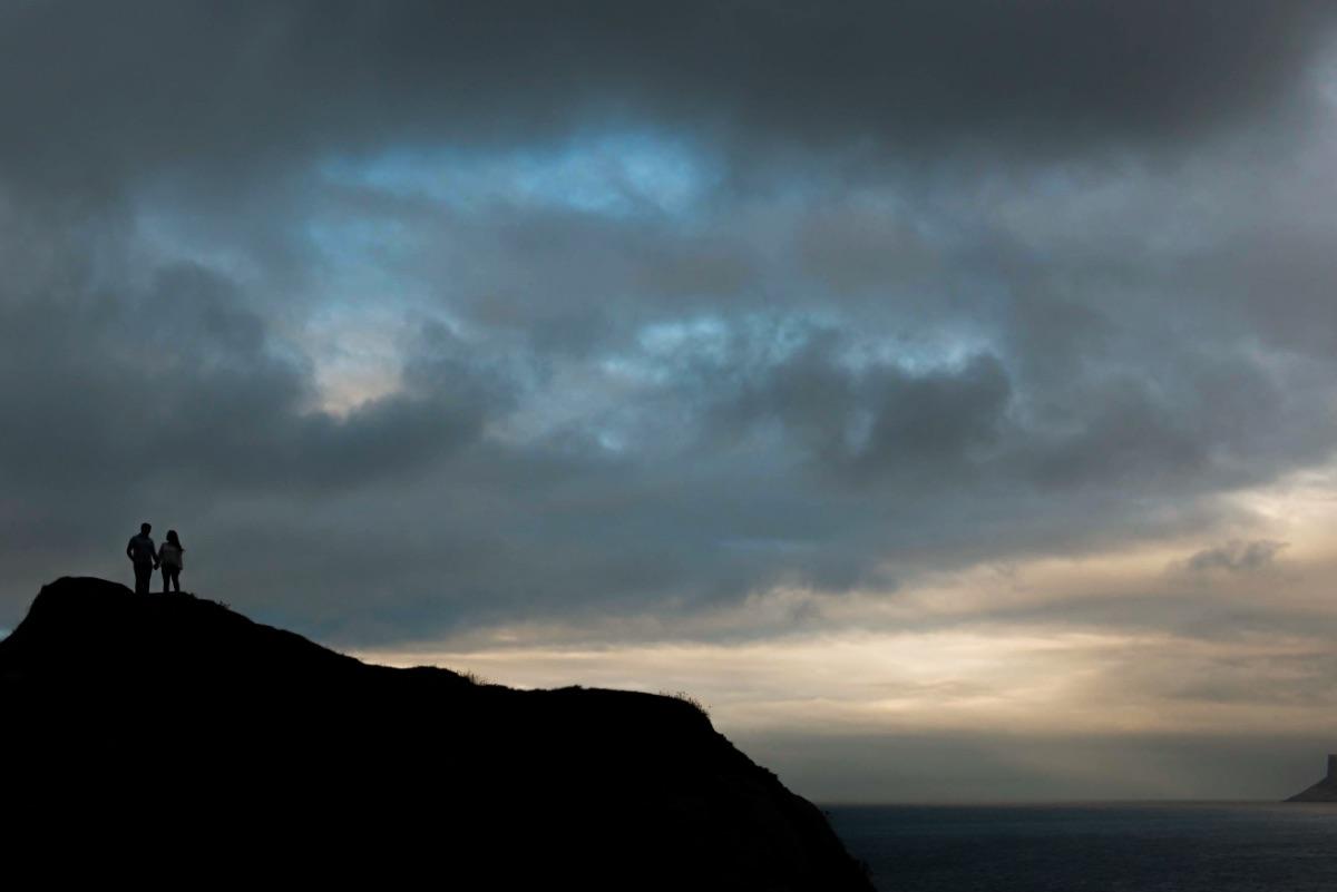 Northern Ireland elopements Kinbane Castle