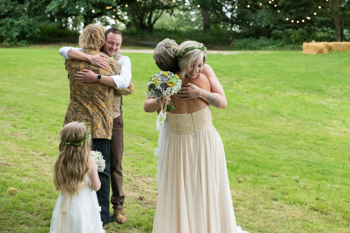 Relaxed wedding at Finnebrogue Woods